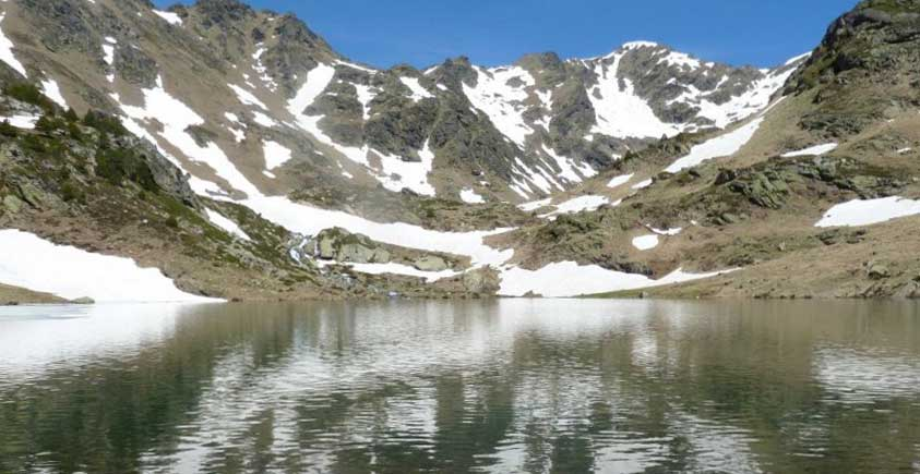 randonnée pedestre au pas de la case en andorre encamp