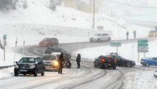 Grosse chute de neige dans les pyrénées